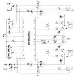 TDA7250 amplificator audio de putere schema electronica